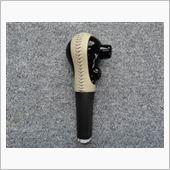 Leather Custom FIRST E12ノート 純正ATノブベースカスタム