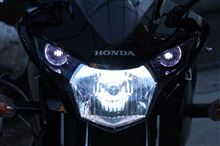 CBR125RSphere Light バイク用HIDコンバージョンキット スフィアバラスト 55W H4 Hi/Lo 10000Kの全体画像