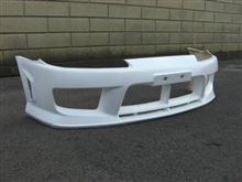 シルビアvanquish equipment / VREco フロントバンパーの全体画像