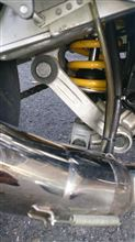 GPZ900Rオーリンズ 17インチ用リアサスペンションの単体画像