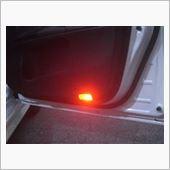 AXIS-PARTS 車種別専用LEDカーテシランプ 赤