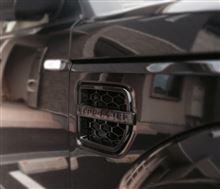 ディスカバリー4LAND ROVER(OEM) Gloss Black Fender Ventの単体画像