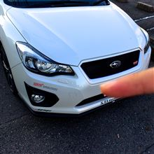 インプレッサ G4STI フロントアンダースポイラー&スカートリップの単体画像