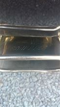 キューブstillen Stainless Steel Rear Section Exhaust Systemの単体画像