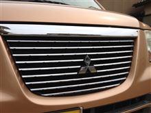 eKクラッシィ三菱自動車(純正) メッキグリルの単体画像