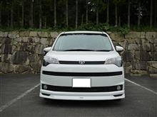 スペイドトヨタモデリスタ / MODELLISTA フロントグリルガーニッシュ(メッキ)上2枚の全体画像