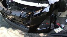 アルファード G'sトヨタ(純正) フロントバンパーの全体画像