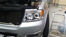 マークLTiPEX MOTORING Bright LED Light DRL Strip With Dual Halo Rim Projector Headlightの単体画像