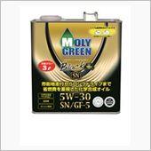 パルスター MOLY GREEN モリグリーン ブラックミニ 3L SN 5W-30