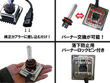 コムス P・COMParts本舗 超小型35W H8/H11 一体型 HIDキット 6000K 保証付 フォグランプ オールインワンHIDの単体画像