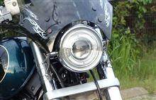 デスペラード800中華 プロジェクターライト改(HID)  イカリング付の単体画像