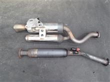 クリオ ルノー・スポールsifo clio2 RS hp2用 マフラーの全体画像