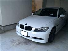 3シリーズ セダン不明 BMW E90 E91前期 フロントスポイラースプリッター塗装済の単体画像
