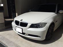 3シリーズ セダン不明 BMW E90 E91前期 フロントスポイラースプリッター塗装済の全体画像