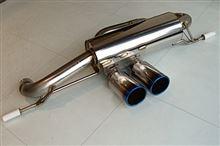 エヴォーラウィザムカー ウィザムカーオリジナルエボーラスポーツマフラーの単体画像