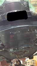 M6 クーペワンオフ カーボンアンダーパネル兼フロントリップの全体画像
