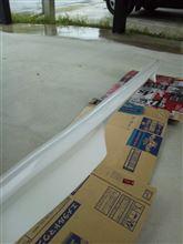 フィットシャトルトヨタ カルディナリアスポイラーの単体画像