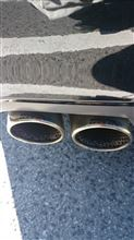 S6 アバント (ワゴン)Milltek Sport ステンレスマフラーの全体画像