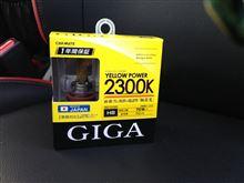 GIGA イエローパワー 2300K H8 / BD1035