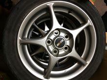 キックス三菱自動車(純正) 三菱純正アルミホイールの単体画像