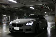 M6 クーペBMW M PERFORMANCE ブラック・キドニー・グリルの全体画像