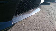 C63 Perfomance Packageメーカー・ブランド不明 カーボン フロントリップスポイラーの単体画像