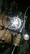 XL1200N ナイトスターHARLEY-DAVIDSON(純正) 5 3/4 LED DAYMAKER ヘッドランプBL(純正品番67700145)の全体画像