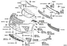 プリウストヨタ(純正) G'sバンパー フロントの単体画像