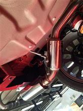フィアット500 C (カブリオレ)INTER La Peace / インター・ラピス APOLLONIA  fulmine 車検対応 フルマフラーの全体画像