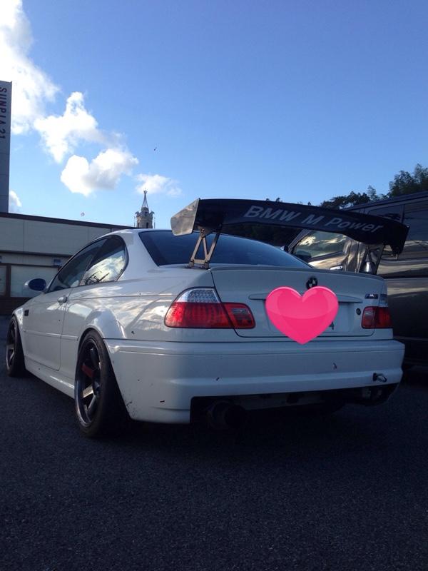 BMW CSL 超ブリッピングプログラム!