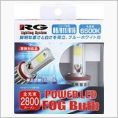 RACING GEAR POWER LED FOGバルブ 6500K H8/H11/H16 RGH-P501
