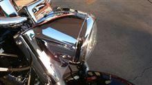 ソフテイルデラックスハーレーダビッドソン(純正) ヘッドライトナセルの単体画像