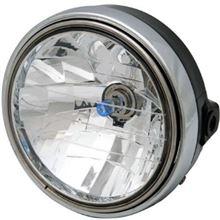 CB400_SSビッグワン 8インチ CBタイプ マルチリフレクターヘッドライトの単体画像