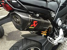 MSX125AKRAPOVIC Slip-on exhust systemの単体画像