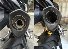 MSX125AKRAPOVIC Slip-on exhust systemの全体画像