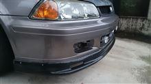 トルネオ百式自動車 ABS製リップスポイラーの単体画像