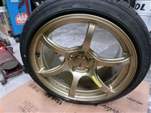 RX-8YOKOHAMA WHEEL ADVAN Racing RGⅢの単体画像