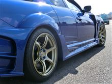 RX-8YOKOHAMA WHEEL ADVAN Racing RGⅢの全体画像