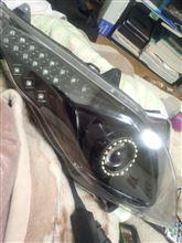 スカイウエイブ250 タイプMスズキ(純正) プロジェクターヘッドライトの全体画像