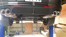 SHELBY GT500Borla Performance cat-Backの全体画像