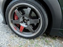 MINI CoupeRAYS VOLK RACING VOLK RACING TE37 SLの単体画像