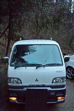 ミニキャブトラック三菱自動車(純正) ブラボーバンパーの全体画像