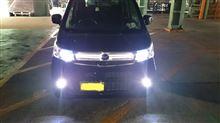 フレアカスタムスタイルスズキ LED グリルの全体画像