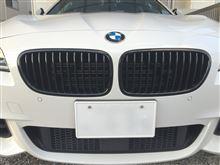 アクティブハイブリッド 5BMW(純正) BMW Performance ブラックキドニーグリルの単体画像