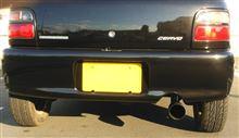 セルボ・モードSUZUKI SPORT / IRD SUZUKI SPORT Racing TYPE-St エキゾーストマフラーの全体画像