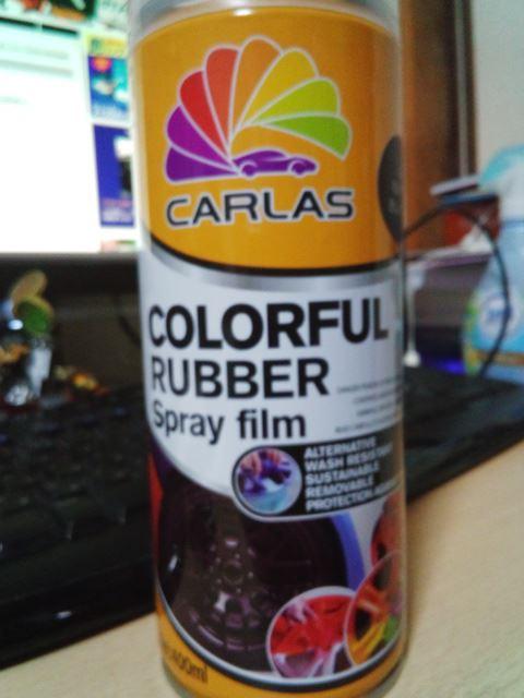 CARLAS  ラバースプレーフィルム マットブラック