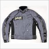 SCHOTT   09101S メッシュジャケット ガンメタル
