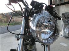 マローダ125ヤマハ純正 V-max純正ヘッドライトユニットの単体画像