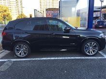 X5不明 BMW X5 E70 F15用 20インチホイールの全体画像