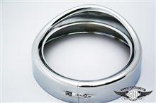 ヘリテイジ ソフテイル クラシックハーレーダビッドソン(純正) バイザースタイル・トリムリング・コレクション ヘッドライトの単体画像